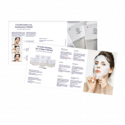 IONTO-COMED Professional Care Flyer für Sheet Face Mask
